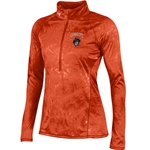 UNDER ARMOUR ORANGE FUSION TECH 1/2 ZIP JACKET