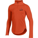 UNDER ARMOUR GIRLS CHARGED COTTON 1/4 ZIP