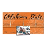 OKLAHOMA STATE HANGING PHOTO BOARD