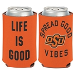 LIFE IS GOOD CAN COOLER