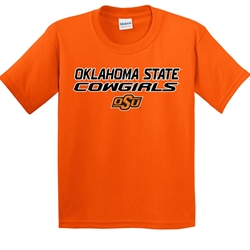 YOUTH OK ST COWGIRLS SHORT SLEEVE TEE