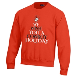GEAR COWBOY CHRISTMAS FLEECE CREW