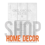 Oklahoma State Home Decor  |  SHOPOKSTATE.COM