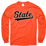 STATE BASEBALL TAIL LONG SLEEVE TEE