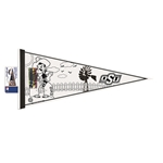 OSU 8X18 COLOR ME PENNANT