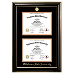 CLASSIC DOUBLE DIPLOMA FRAME