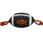 OSU NYLON FOOTBALL DOG TOY