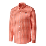 DISCOVERY PARK PLAID LONG SLEEVE BUTTON UP