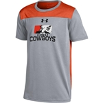 UNDER ARMOUR YOUTH FOUNDATION SHORT SLEEVE TECH PETE FACE TEE