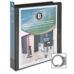 "1.5"" Black View Binder"