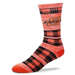 OSU DOUBLE PLAID SOCK