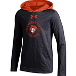 UNDER ARMOUR YOUTH CHARGED COTTON HOODY TEE