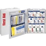 First Aid Only 25 Person Med. SC Food Srvc Cabinet