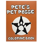 PETE'S PET POSSE COLORING BOOK