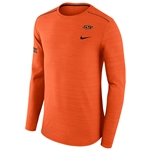 NIKE BREATHABLE LONG SLEEVE PLAYER TOP