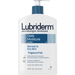 J & J Lubriderm Frag. Free Daily Moisture Lotion