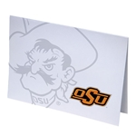 PISTOL PETE IMPRINTED NOTE CARD