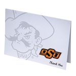 PISTOL PETE IMPRINTED THANK YOU CARD
