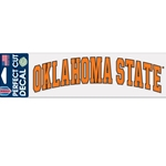 OKLAHOMA STATE 3X10 DECAL