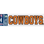 COWBOYS 3x10 DECAL
