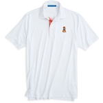 SOUTHERN TIDE GAMEDAY TATTERSALL PLACKET PERF POLO