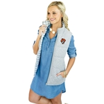 GAMEDAY COUTURE HIDE AND CHIC REVERSABLE VEST