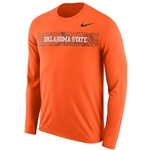 NIKE LONG SLEEVE SIDELINE TEE
