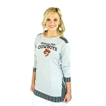 GAMEDAY COUTURE SKIP THE LINES TUNIC