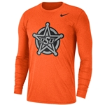 NIKE TRI-BLEND BADGE LONG SLEEVE TEE