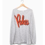 GREY TERRY LOOP SWEATSHIRT