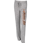 LAYOVER GREY FLEECE PANT
