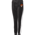 LONG STRIDE BLACK VELOUR JOGGER