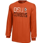 YOUTH LONG SLEEVE COWBOYS TEE