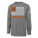 '47 OHT TWO PEAT SCRUM FLAG LONG SLEEVE TEE