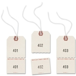 Avery Strung Duplicate Auto Park Tags