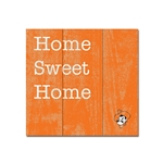 HOME SWEET HOME WOOD PLANK SQUARE