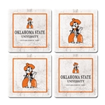 IVY LEAGUE THIRSTY COASTER 4-PACK