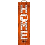 HOME AWAY FROM HOME VERTICAL PLAQUE