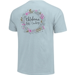 COMFORT COLORS FLORAL TEE