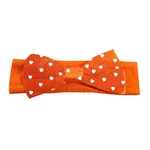 INFANT HEART BOW HEADBAND
