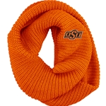 ORANGE PIPER CHUNKY INFINITY SCARF