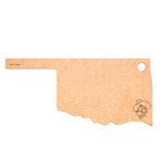 OK STATE EPICUREAN CUTTING BOARD
