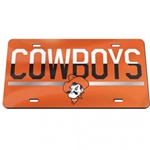 COWBOYS DUO LICENSE PLATE