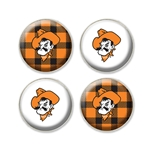 BUFFALO PLAID FRIDGE MAGNETS