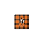 BUFFALO PLAID SQUARE WOOD MAGNET