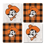 BUFFALO PLAID COASTER 4-PACK