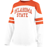 HALF BACK LONG SLEEVE TEE