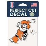 BASEBALL PETE 4X4 DECAL