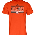 2019 BIG12 BASEBALL CHAMP TEE