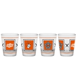 OSU LOGOS SHOT GLASS